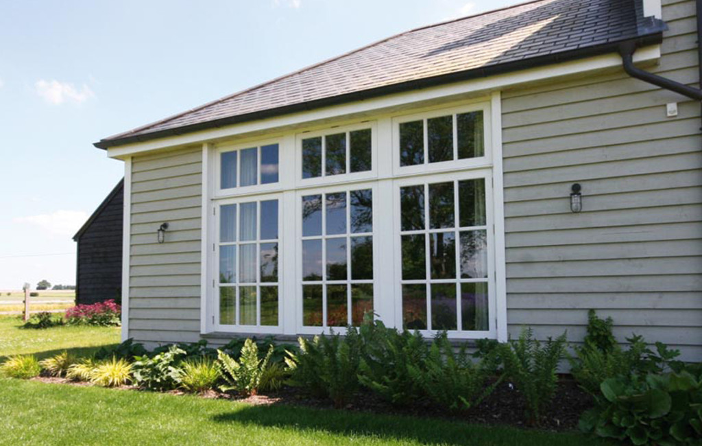 A beautiful example of how Westbury's casement windows can enhance a property
