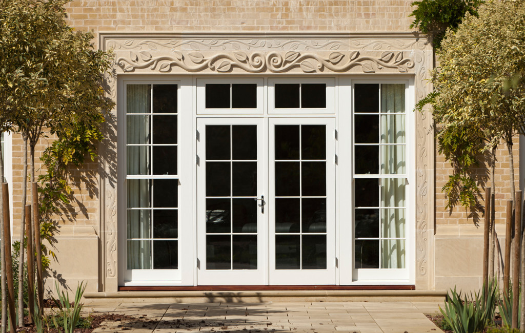 Photo gallery westbury windows joinery for French doors with windows either side