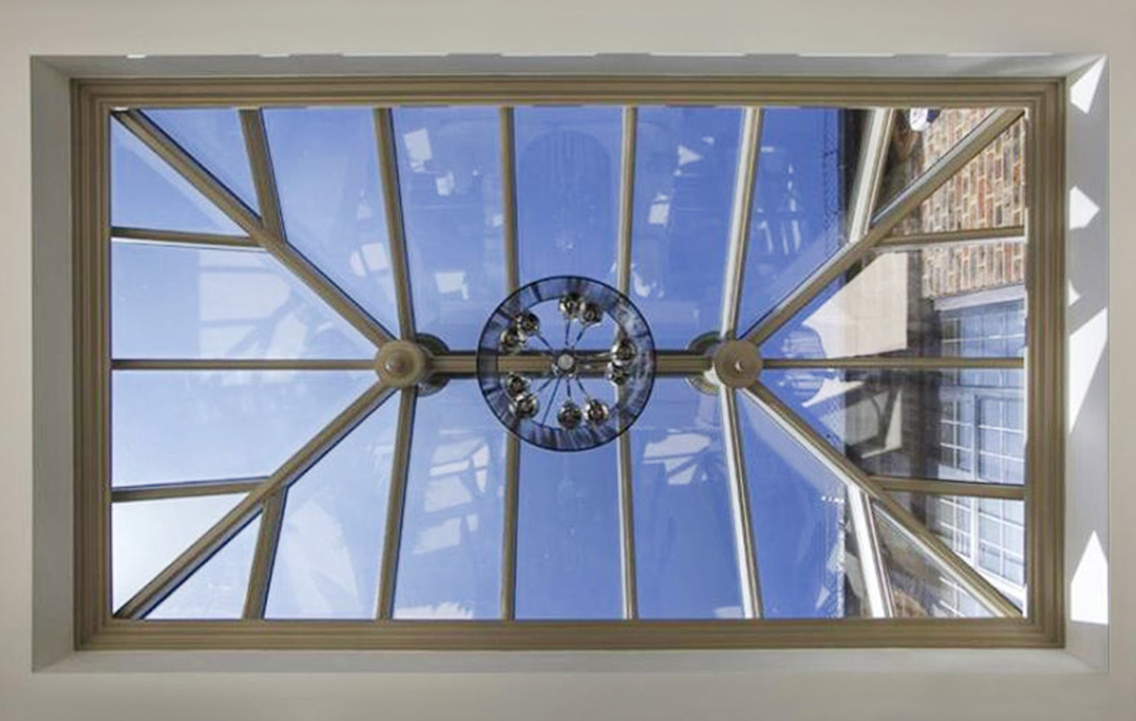 Internal image of a roof lantern