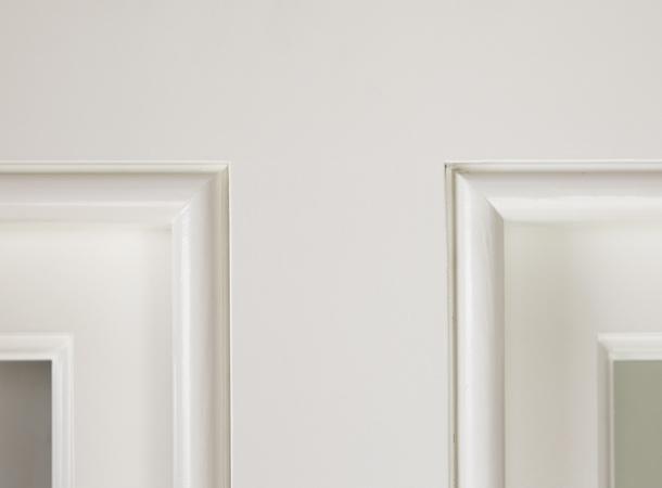 Beautiful close up detail of a casement window