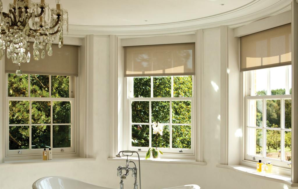 Sliding sash window installation to a fantastic bathroom