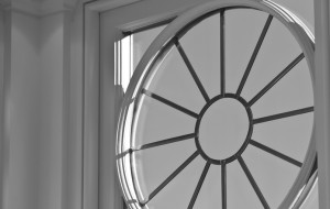 Stunning radial window