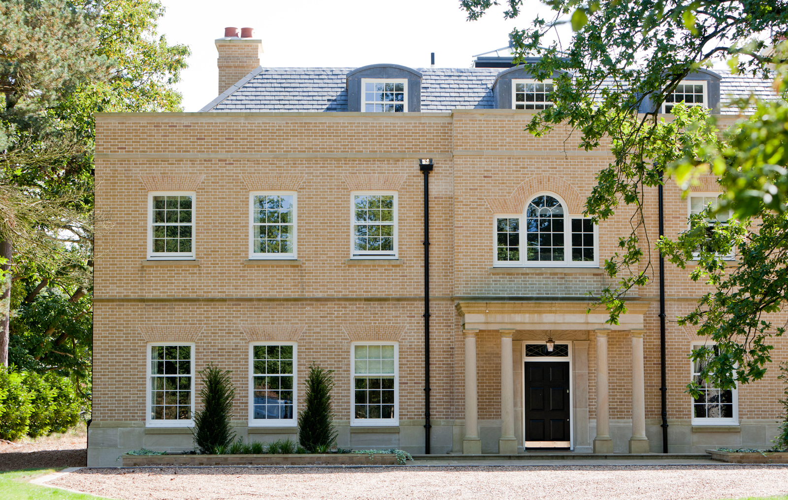 Multiple sliding sash windows to a stunning property