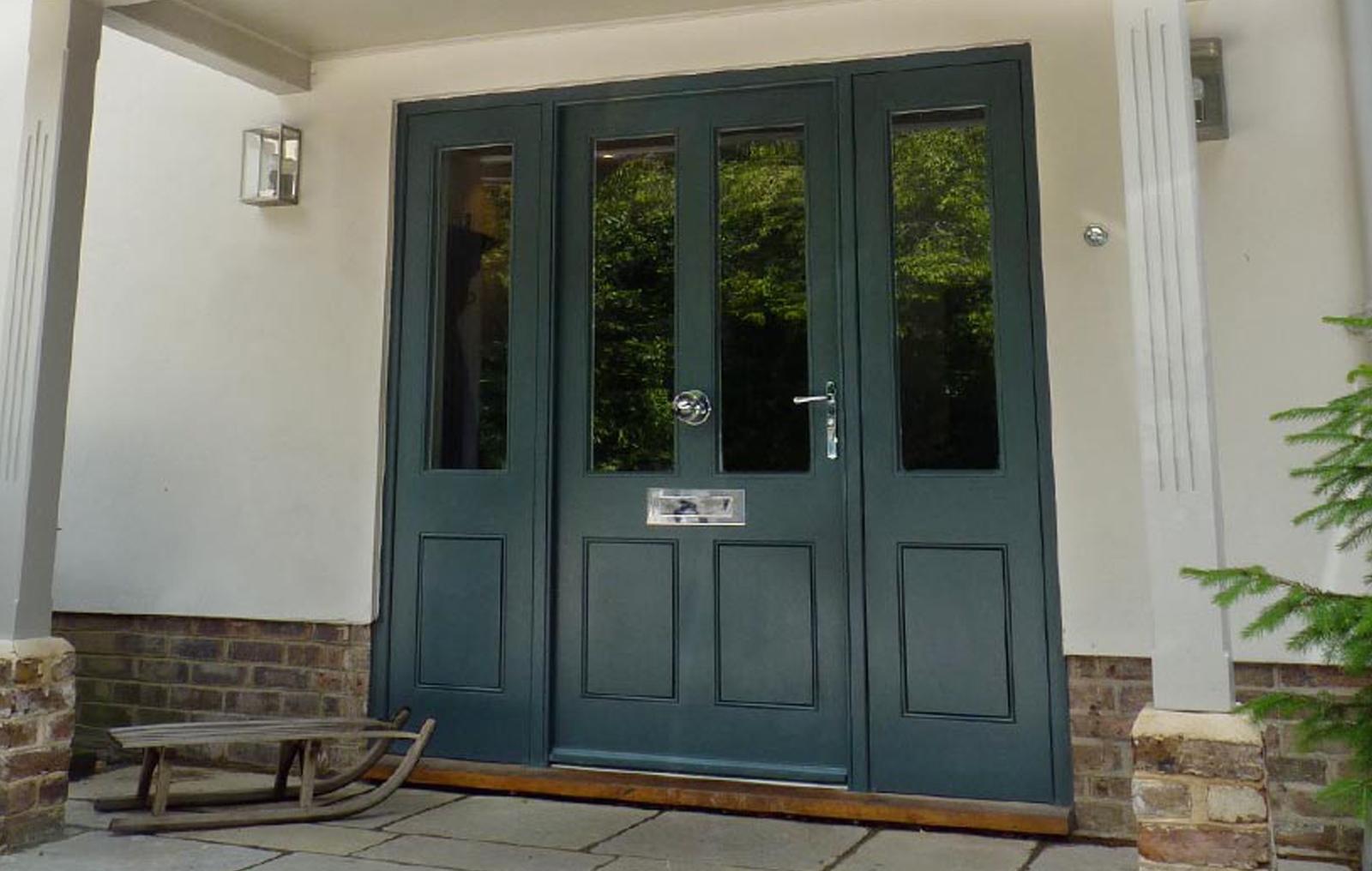opening front door. Outward Opening Front Door L