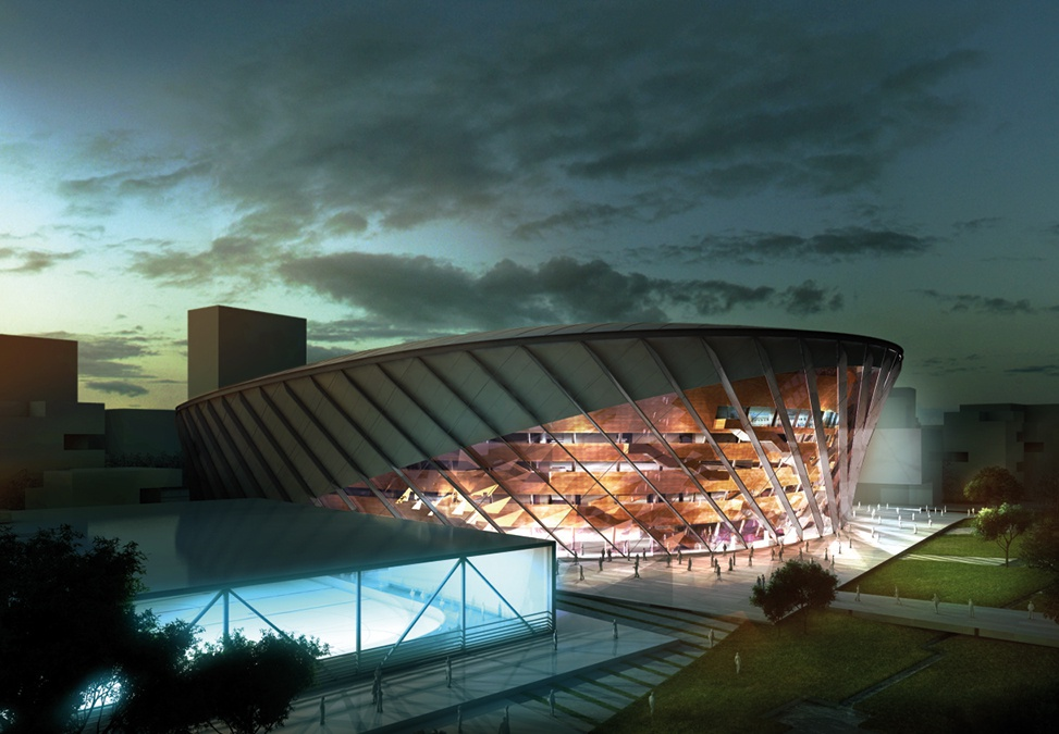 Copenhagen arena hopkins architect