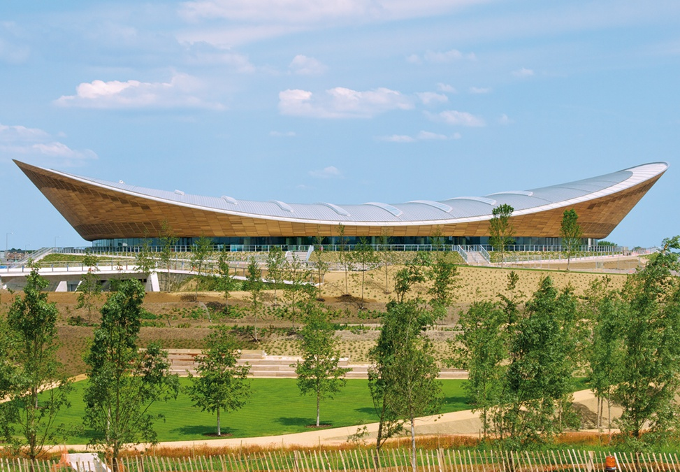 Hopkins Architects Olympic velodrome