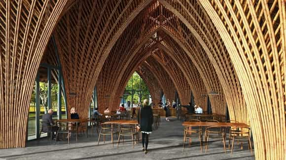 Ting Zi Bamboo Pavilion interior - westbury's pick